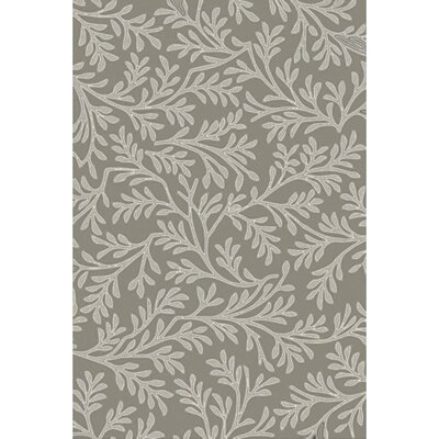Grant Hand-Tufted Light Gray/Beige Area Rug Rug size: Rectangle 8 x 11