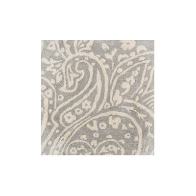 Grant Hand-Tufted Gray/Neutral Area Rug Rug Size: 5 x 8