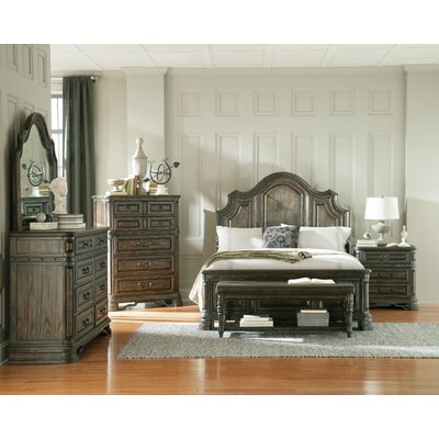 Monterrey Panel Bed Size: California King