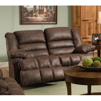 Simmons Upholstery Pickering Motion Reclining Loveseat