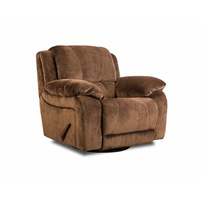 Craig Manual Swivel Glider Recliner by Simmons Upholstery