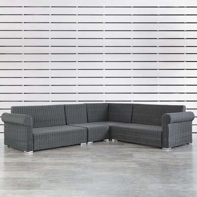 Rathdowney Sectional Finish: Charcoal