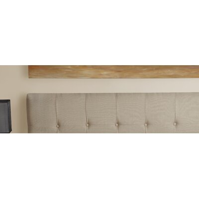 Dawn Upholstered Panel Headboard Size: Queen, Upholstery: Beige