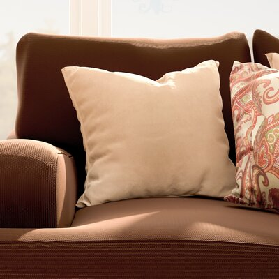 Hadenson Throw Pillow Color: Taupe