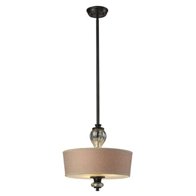 Milltown 3-Light Drum Pendant