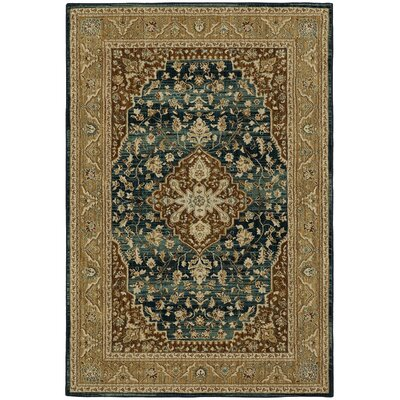Lakemont Gold/Brown Area Rug Rug Size: Rectangle 8 x 10