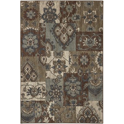 Lakemont Brown Area Rug Rug Size: Rectangle 8 x 10