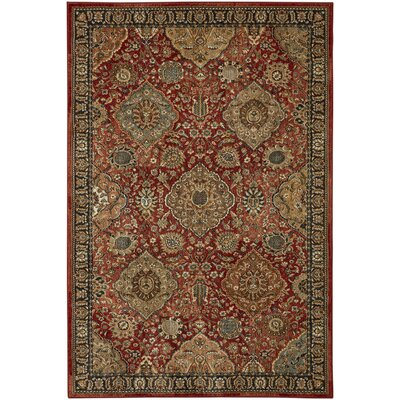 Lakemont Red Area Rug Rug Size: Rectangle 53 x 710