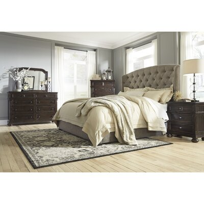 Almont Upholstered Customizable Bedroom Set