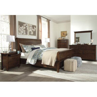 Allred Sleigh Customizable Bedroom Set