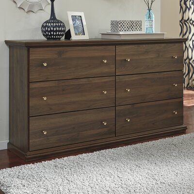 Allport 6 Drawer Double Dresser