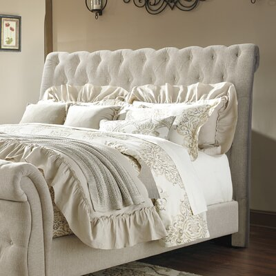 Althea Upholstered Panel Headboard Size: King