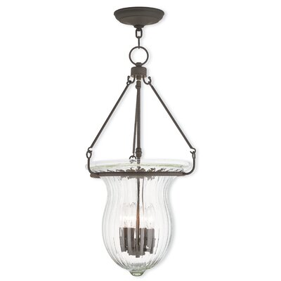 Bachmann 4-Light Foyer Pendant Finish: Bronze