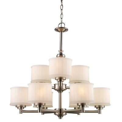 Wedgewood 9-Light Drum Chandelier Finish: Rubbed Oil Bronze