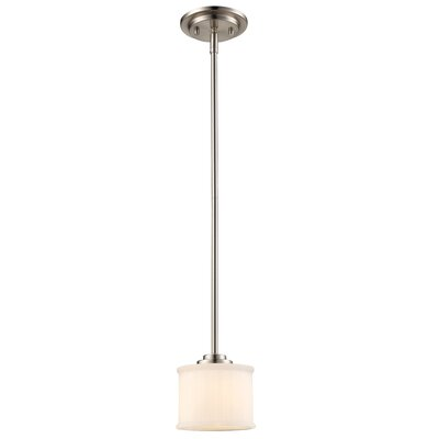 Wedgewood 1-Light Mini Pendant Finish: Rubbed Oil Bronze