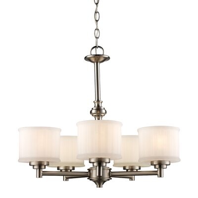 Wedgewood 5-Light Drum Chandelier Finish: Rubbed Oil Bronze
