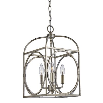 Eunice 3-Light Foyer Pendant Finish: Rubbed Oil Bronze