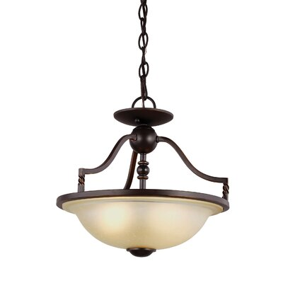 Bungalow 2-Light Mini Pendant