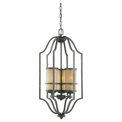 Bale 3-Light Foyer Pendant Bulb Type: Incandescent A19 100W