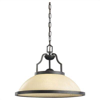 Bale 1-Light Pendant Bulb Type: Incandescent A19 150W