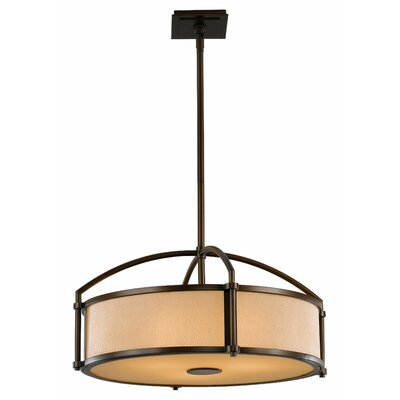 Etten 3-Light Drum Pendant