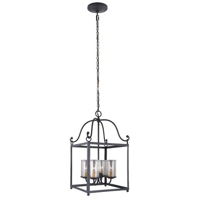 Briscoe 4-Light Foyer Pendant