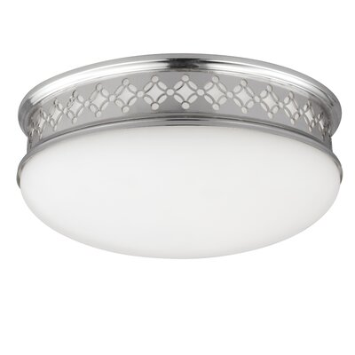 Sowders Flush Mount Finish: Polished Nickel