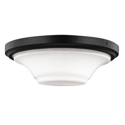 Givan 3-Light Flush Mount Finish: Oil Rubbed Bronze