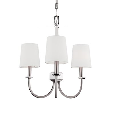 Holdren 3-Light Shaded Chandelier