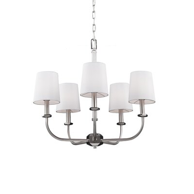 Holdren 5-Light Shaded Chandelier