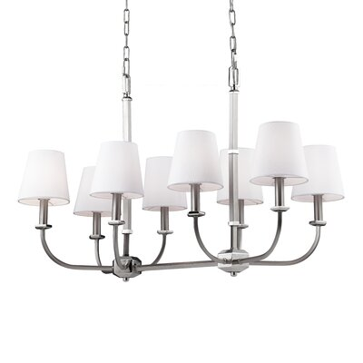 Holdren 8-Light Shaded Chandelier