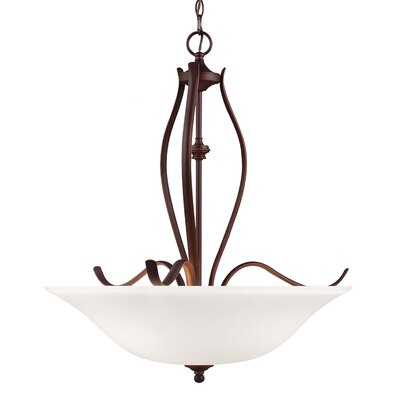 Pavilion 3-Light Bowl Pendant Finish: Oil Rubbed Bronze