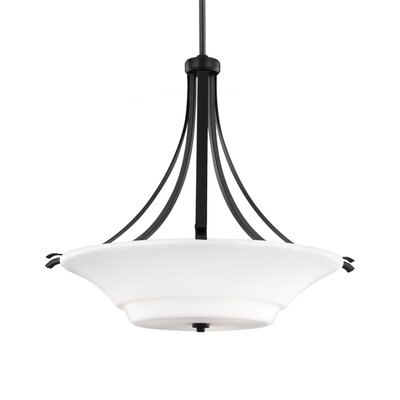 Givan 3-Light Bowl Pendant Finish: Oil Rubbed Bronze