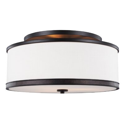 Oneal 3-Light Semi Flush Mount
