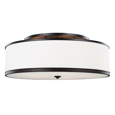 Oneal 5-Light Semi Flush Mount