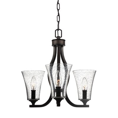 Oneal 3-Light Candle-Style Chandelier