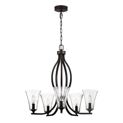 Oneal 5-Light Candle-Style Chandelier