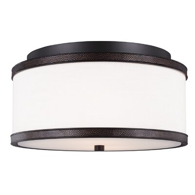 Oneal 2-Light Flush Mount