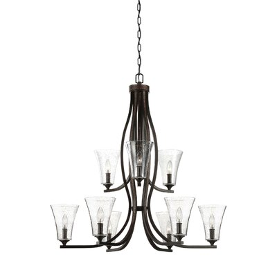 Oneal 9-Light Candle-Style Chandelier