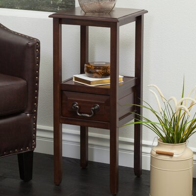 Gilson End Table Finish: Brushed Morning Mist