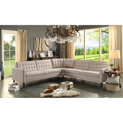 Starner Sectional Collection Upholstery: Beige