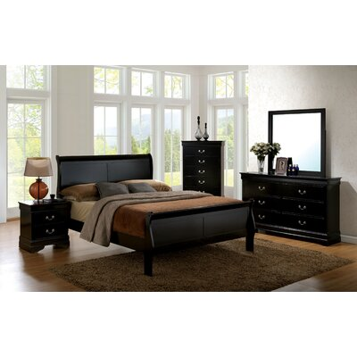 Alvarez Sleigh Customizable Bedroom Set