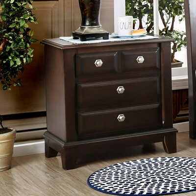 Daleville 4 Drawer Nightstand