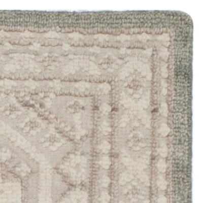 Baum Hand-knotted Beige Area Rug Rug Size: Rectangle 6 x 9