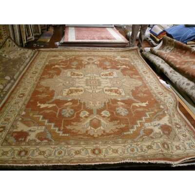 Linwood Hand-Woven Beige/Brown Area Rug