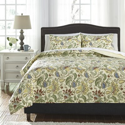 Beachmont 3 Piece Coverlet Set Size: Queen