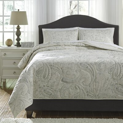 Beacon Falls Coverlet Set Size: Queen