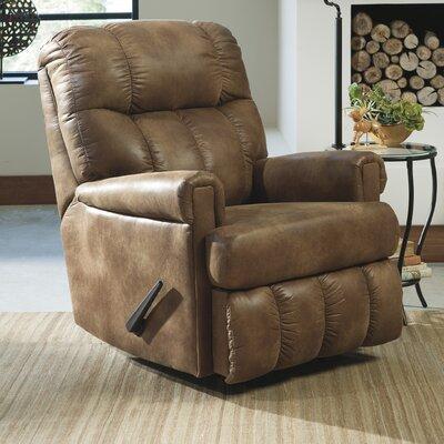 Beauchamp Square Rocker Recliner Upholstery: Espresso