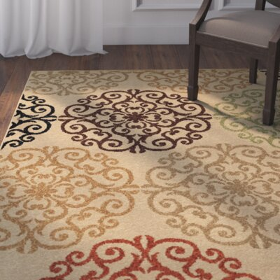 Dubuque Beige Indoor/Outdoor Area Rug