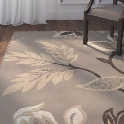 Plaines Gray Area Rug